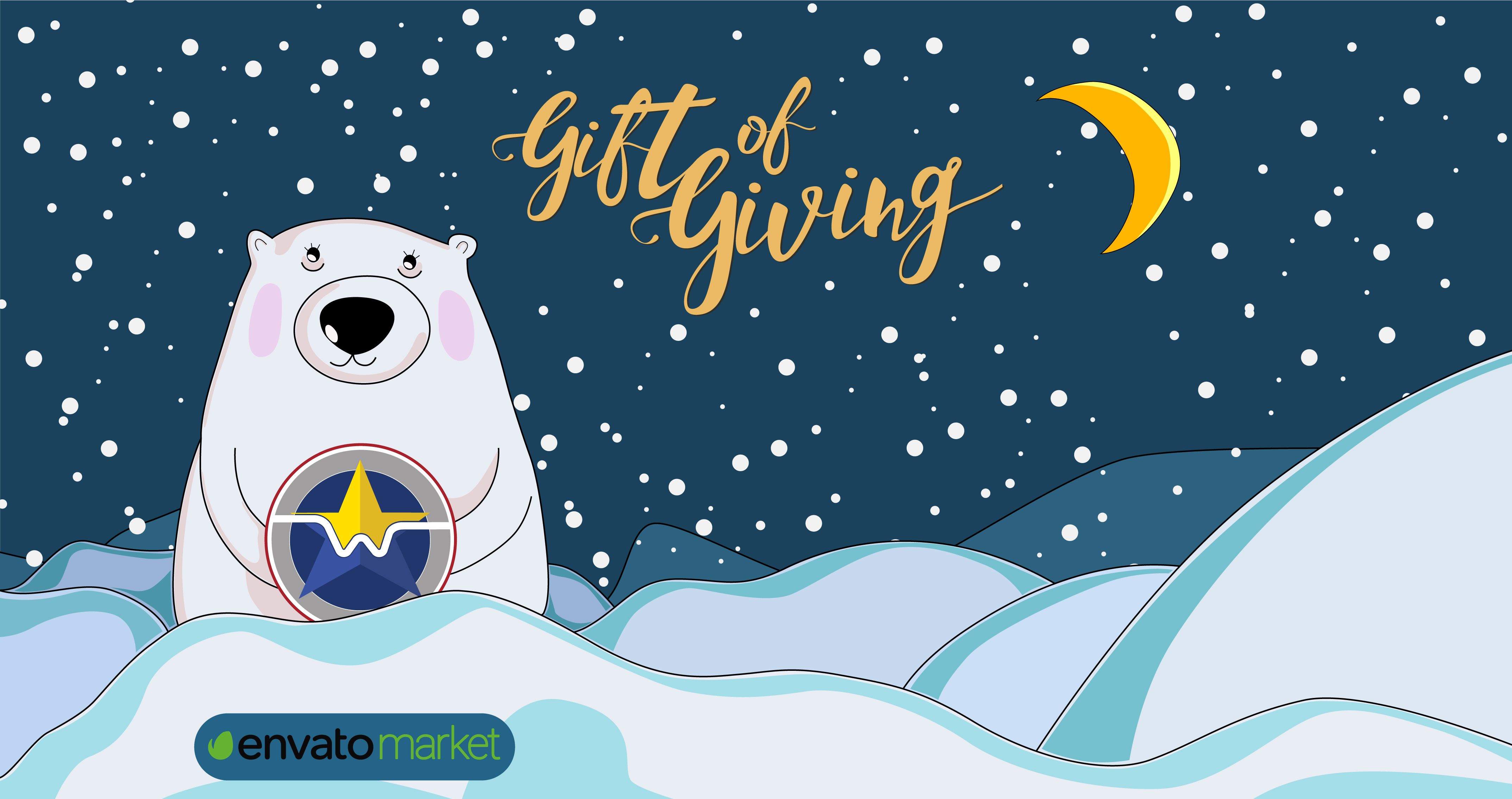 Gift of Giving campaign from Envato Market - free themes for WordPress, Magento, Drupal. Freebies for web-developers and site owners.